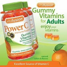 Vitafusion Power C, Gummy Vitamins For Adults, 150-Count, Pack Of Two by vitafusion, http://www.amazon.com/dp/B004QEK6YQ/ref=cm_sw_r_pi_dp_-X87pb059SYBB