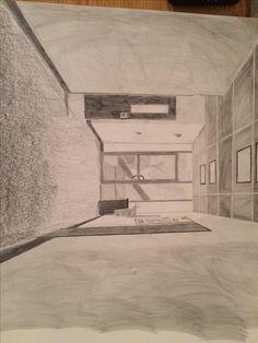 1 pt line perspective-graphite