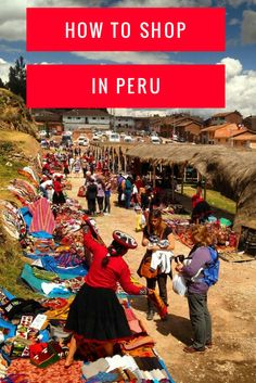 Best shopping tips for Peru souvenirs