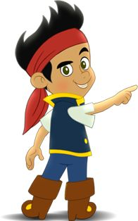 Jake And The Neverland Pirates ClipArt Pirate Fairy Party Birthday 3rd