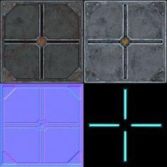 The third sci-fi texture (4.bp.blogspot.com, 2014) Sci Fi News, Floor Texture, Texture Images, Corridor, Vr, Raven, Third, Environment, Flooring