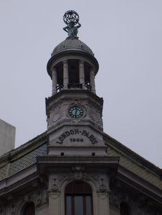 Montevideo, San Francisco Ferry, Castle, London, Architecture, Retro, Building, Travel, Uruguay