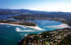 Merimbula, South Coast, New South Wales. Coast Australia, Australia Travel, Great Places, Places Ive Been, Amazing Places, Best Caravan, Places To Travel, Places To Visit, South Coast Nsw