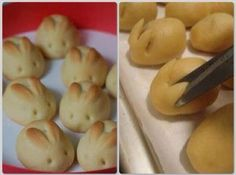 Schattig kleine paashaas broodjes | adorable little easter diner rolls