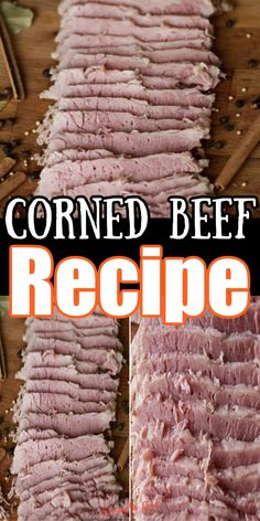 If you are looking for the best way to cook corned beef, you need to try my sous vide corned beef recipe. No longer do you need to wonder how long to boil corned beef or hope it is going to be the texture you love. Dinner Recipes Easy Quick, Easy Weeknight Meals, Quick Easy Meals, Easy Recipes, Best Corned Beef Recipe, Cooking Corned Beef, Cheese Pairings, Sous Vide Cooking, Recipes For Beginners
