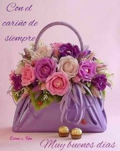 Beautiful Flower Arrangements, Love Flowers, Paper Flowers, Floral Arrangements, Beautiful Flowers, Deco Floral, Arte Floral, Floral Design, Flower Bag