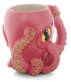 Whoa! This octopus coffee mug is crazy! This cool cup will make drinking coffee more fun! #Coffee #Mug #MrCoffee