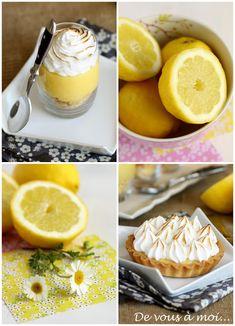 De vous à moi...: Tarte au Citron Meringuée... Revisitée!