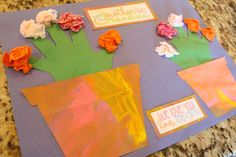 Mother's Day Craft for Grandma or Grandparents day which is apparently today!
