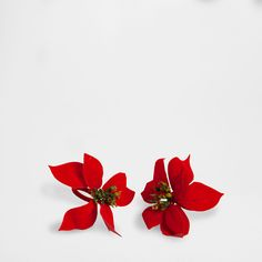 POINSETTIA NAPKIN RING (SET OF 2)