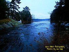 Wintertime in the Narrows at the Foot of Duck Lake off Highway 518 near Orrville Ontario