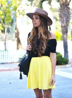 yellow skirt Stellawantstodie waysify