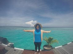 Maratua paradise resort, maratua island, berau, east borneo, indonesia