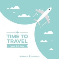 Travel background with airplane design Free Vector Choose your trip destination and don't miss to do this! Have a nice flight! Online Flight Booking, Air Ticket Booking, Air Tickets, Book Cheap Flight Tickets, Airfare Deals, Cheapest Airfare, Airplane Vector, Airplane Design, Wayfarer