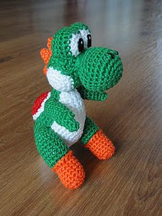 Mini Yoshi Amigurumi : 1000+ images about mario crochet on Pinterest Amigurumi ...