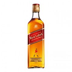 Johnnie Walker Red Label is the world's best-selling Blended Scotch Whisky, combining up to 35 whiskeys from distilleries all over the Scottish regions. Whisky Chivas, Whisky Red Label, Johny Walker, Johnny Walker Blue Label, Packaging, Scotch Whiskey, Distillery, Whiskey Bottle, Alcoholic Drinks