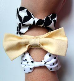 DIY bowtie bracelets!