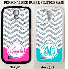 NEW HOT PINK TEAL CHEVRON MONOGRAM PHONE Case For Samsung GALAXY S7 S6 NOTE 7 5 #UnbrandedGeneric