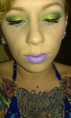 D'lilac lippy from Lime Crime :)