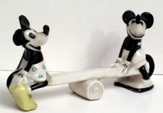 Mickey Mouse knife rest, 1930's