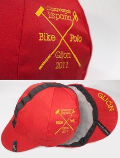 LB-CampES-bike-polo-mont Lucky basterds custom... Cap Ideas, Bike Wear, Bike Run, Cycling, Bicycle, Polo, Hats, Blue Prints, Biking