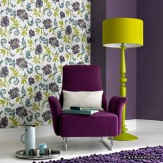Фиолетовая гостиная - Любимый дом