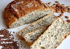 Eltefritt brød med linfrø Banana Bread, Food And Drink, Vegan, Baking, Desserts, Foods, Tailgate Desserts, Food Food, Deserts