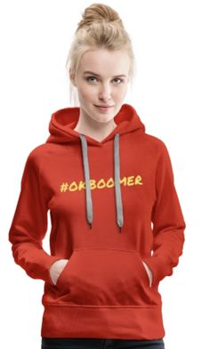 Click the link to see more color and size options. The hoodie is printed just for you - click the link and buy yours! Just My Size, Just For You, Ok Boomer, Me As A Girlfriend, Hoodies, Sweatshirts, Warm And Cozy, Fabric Weights, Simple Designs