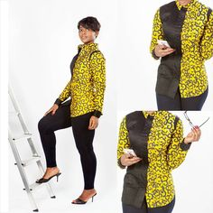 The little Details makes the difference. African Attire For Men, African Print Fashion, Africa Fashion, African Wear, Women's Fashion, African Maxi Dresses, African Shirts, African Traditional Dresses, Couple Outfits