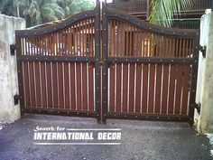 gate designs for private house and garage