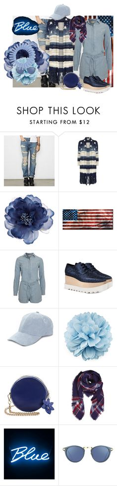 """STAR FALL"" by tailichuns ❤ liked on Polyvore featuring Denim & Supply by Ralph Lauren, Accessorize, STELLA McCARTNEY, Collection XIIX, Gucci, Humble Chic, Seletti and Linda Farrow"