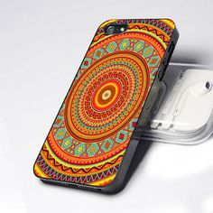mandala aztec pattern iphone 4/4s Case