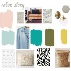 Loving the color scheme of @elsielarson's new home! See more decor inspirations on the blog this morning.