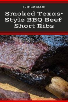 Create delicious smoked at home with this tested smoked beef rib recip Smoked Beef Short Ribs, Bbq Beef Ribs, Beef Back Ribs, Ribs On Grill, Smoked Beef Ribs Recipe, Texas Ribs Recipe, Grilled Ribs Charcoal, Charcoal Grill, Texas Bbq