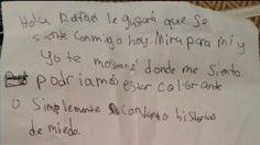 Una estudiante de la primaria Paloma, en Temecula, que responde al nombre deAmanda Moore, decidió escribirle una carta a su compañero de origen mexicano. La pequeña niña tomó la decisión luego de observar que el inmigrante denotaba un estado de tristeza y quizo animarlo diciéndole que ellos pueden ser amigos aunque no hablen el […]