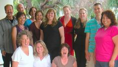 More happy folks after their 5 Day Silent Retreat