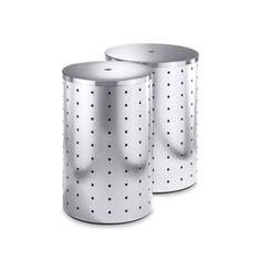 ZACK Quadro Laundry Bin with Steel Lid - 50514 / 50515