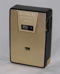Vintage Hitachi 6 Transistor Radio, Model TH-660, Broadcast Band Only (MW), Made In Japan, Circa 1961