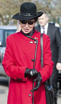 Princess Anne, March 14, 2014 | The Royal Hats Blog-Princess Anne at Cheltenham Races, May 14, 2014