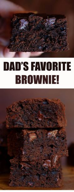 Beer Brownies!! (use a good IPA if that's dad's favorite!)