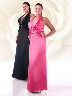 2012 Style Sheath / Column Halter  Beading  Sleeveless Floor-length Elastic Woven Satin Prom Dress / Evening Dress