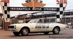 Indypacecars.com - 1967 pace car, Chevy Camaro