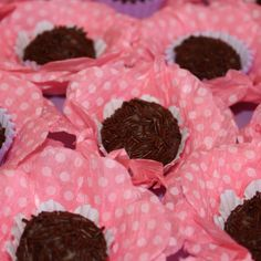 Chocolate fudge balls.