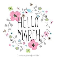 hello march...can't wait to see you...  https://www.pinterest.com/search/pins/?q=hello%20march