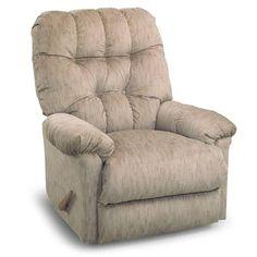 Our Swivel Rocker/Recliner for the nursery. In Dove Grey. Teddy bear soft fabric. :)