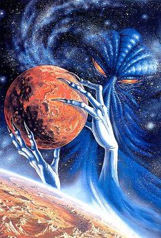 Arte Alien, Arte Sci Fi, Alien Art, Arte Horror, Horror Art, Arte Lowbrow, Lovecraftian Horror, Gato Anime, 70s Sci Fi Art