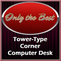 Tower type corner computer desk provides ample space for computer and work accessories all in a compact that definitely is ideal pick for home office or dorm. Computer Desk With Hutch, Desk Hutch, Small Corner, Dorm, Compact, Tower, Website, Space, Accessories