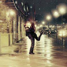 another inspiration shot: dancing in the moonlight (and snow flakes)
