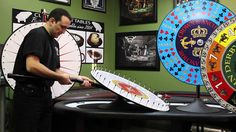 Spinning Prize Wheels at Straight Poker Supplies Toronto Canada ...
