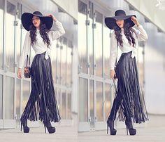 Concepto Skirt, Asos Hat, Mohito Bag
